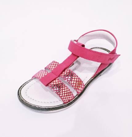Różowe sandały Emel E 2568A-7