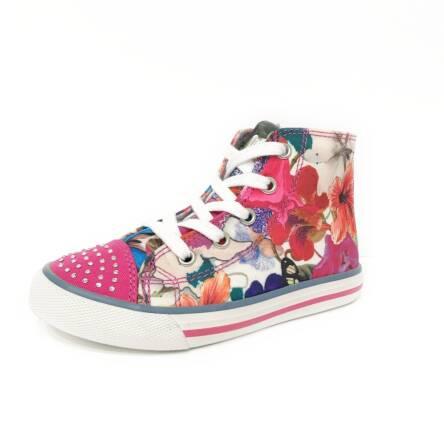 Kolorowe trampki w kwiaty Primigi 5288000