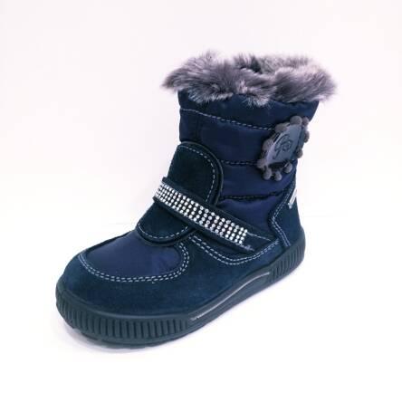Granatowe śniegowce Primigi Gore-TEX 85554/77