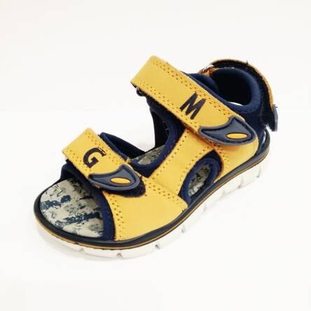 Musztardowe sandały Primigi 1396033